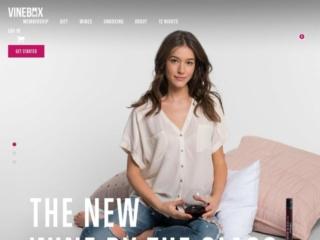 Vinebox web design