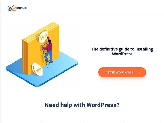 WPsetup web design